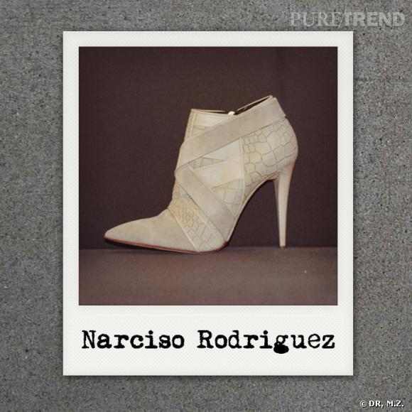 Narciso Rodriguez Automne-Hiver 2012/2013 : ses premiers accessoires