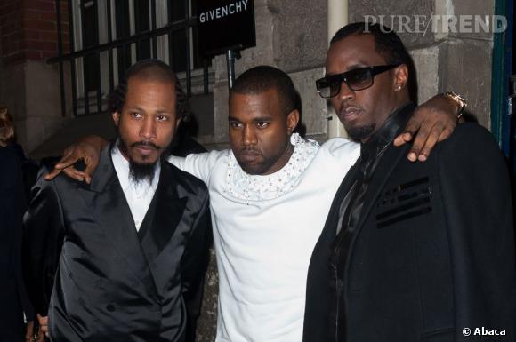 Kanye West, on t'aime pour... tes autres copains en place.