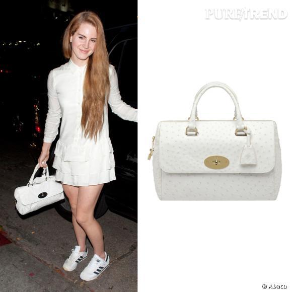 Le nouvel it-bag de Lana del Rey porte son nom : Del Rey ! Il est signé Mulberry !