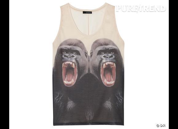 Le coup de coeur de Marijke  Débardeur Gorilles The Kooples, 95 €