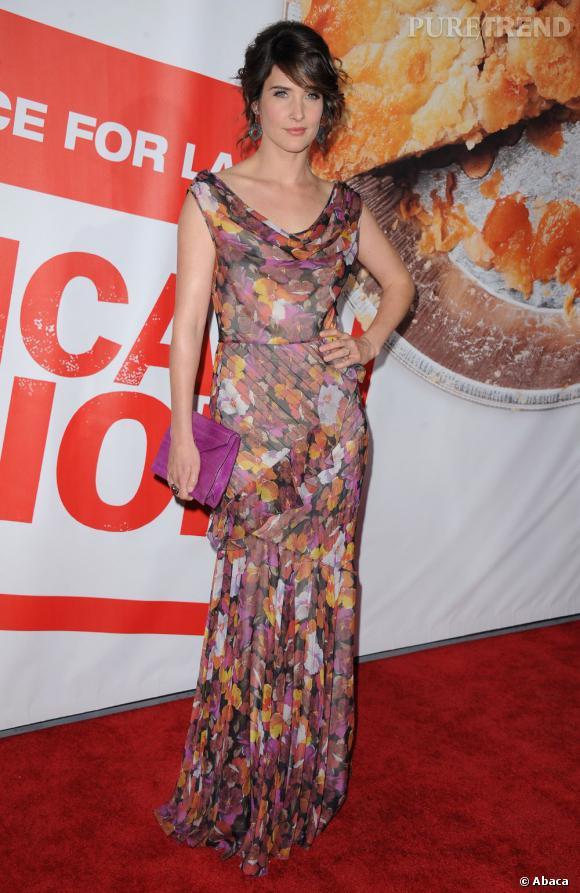 """Cobie Smulders à l'avant première d'""""American Pie 4"""" à Los Angeles."""