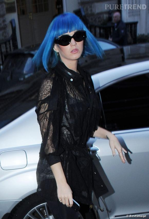 Katy Perry en mode shopping à Londres.