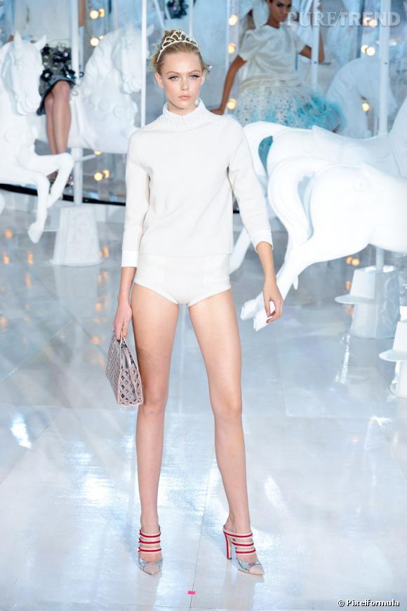 Louis Vuitton défilé Printemps-Eté 2012