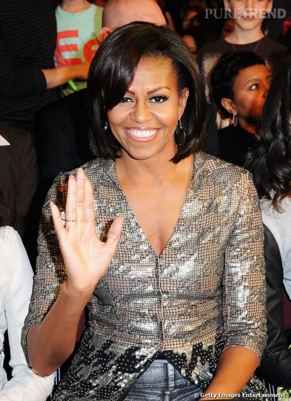 Michelle Obama aux Kids' Choice Awards 2012.