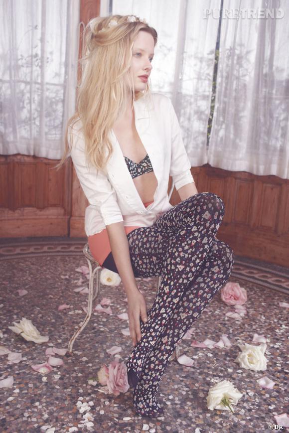 Collection de lingerie Dim by Cacharel, Automne-Hiver 2012/2013.