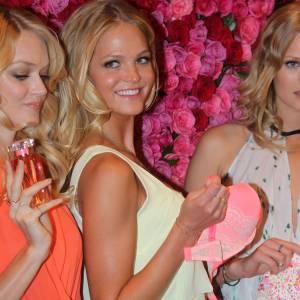 Lindsay Ellingson, Erin Heatherton et Toni Garn, belles à croquer.