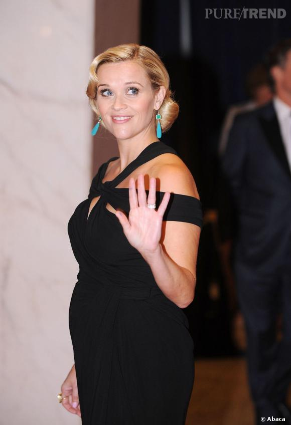 Reese Witherspoon au Dîner des Correspondants à Washington.