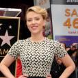 Scarlett Johansson, éblouissante étoile du Walk of Fame.