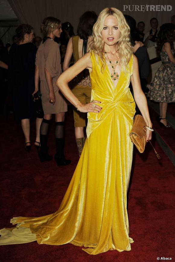 Rachel Zoe ose le jaune.