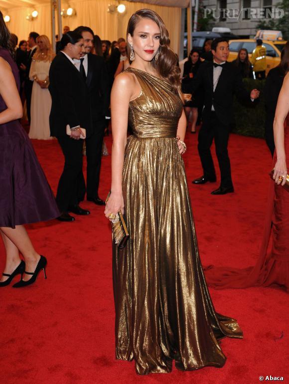 Jessica Alba, la suprise du Met Ball 2012.