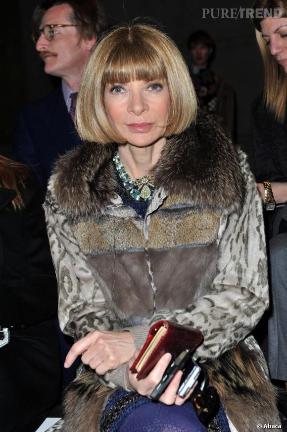 Le carré d'Anna Wintour est aussi mythique que son poste de rédactrice en chef chez Vogue.