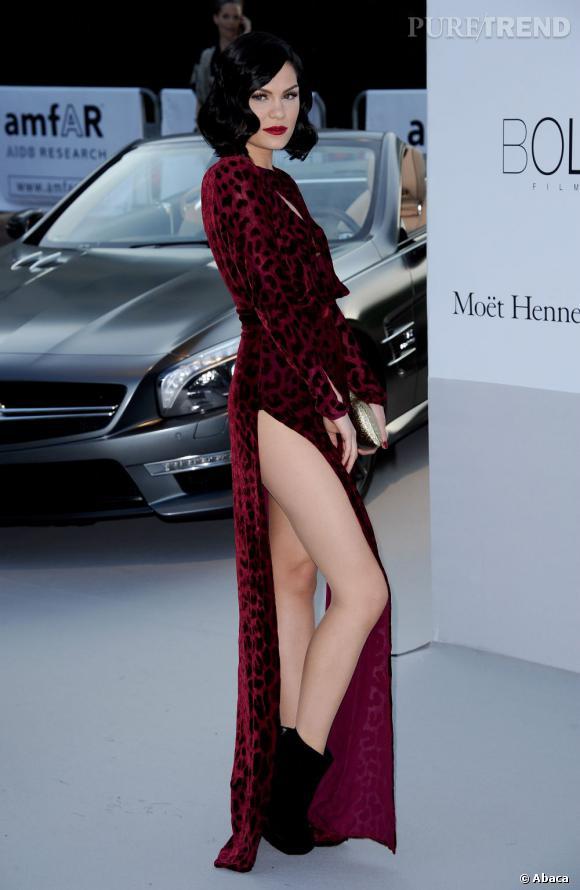 Jessie J au gala de l'amFAR 2012 en marge du Festival de Cannes.