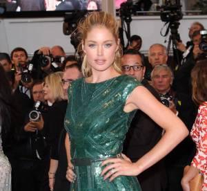 Cannes 2012 : Doutzen Kroes, sirène émeraude