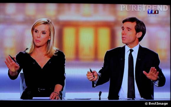 Des tailleurs stricts aux robes plus tendance, Laurence Ferrari aura vu passer quatre ans de mode à l'antenne de TF1.