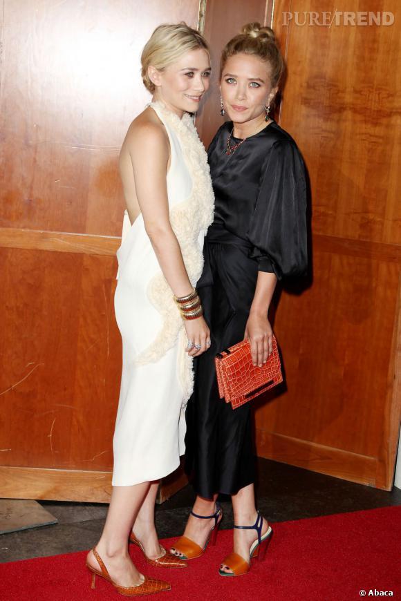 Ashley et Mary-Kate Olsen, deux jumelles qui ne manquent pas de style.