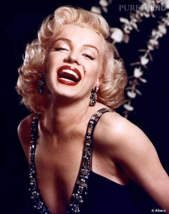Marilyn Monroe est l'ambassadrice de la couleur blonde.