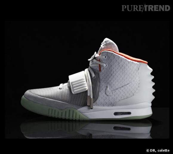 Les Nike Air Yeezy 2 de Kanye West. Edition ultra-limitée, 300€.  Dès le 9 juin.