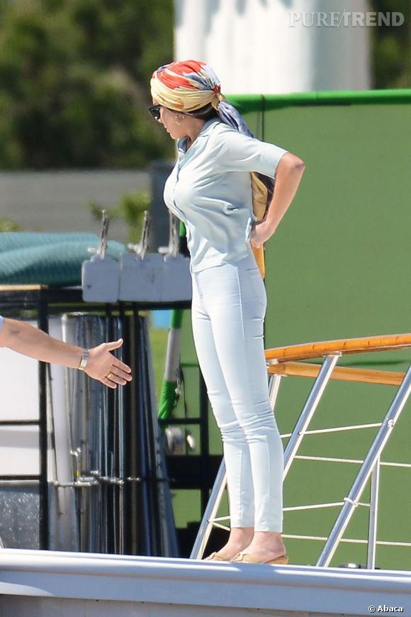 """Lindsay Lohan sur le tournage du téléfilm """"Liz & Dick"""" à Los Angeles."""
