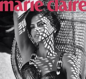 Eva Mendes, sensationnelle pour Marie Claire