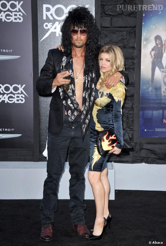 Voilà un couple qui ne pouvait pas passer inaperçu ! Josh Duhamel et Fergie ont joué les rock stars jusqu'au bout.