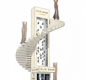 Le parfum Elie Saab investit les Galeries Lafayette