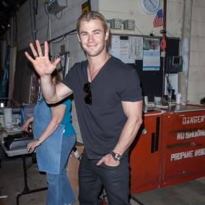 Chris Hemsworth coucou !