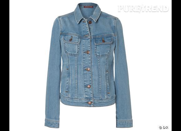 Comme les stars adoptez la veste en jean ! Veste en jean Comptoir des Cotonniers, 145 €