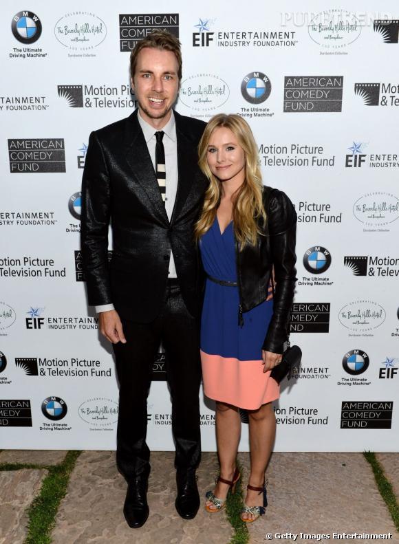 La différence de taille entre Kristen Bell et son mari Dax Shepard est frappante ! Mais même version mini, Kristen Bell reste une vraie bombe...
