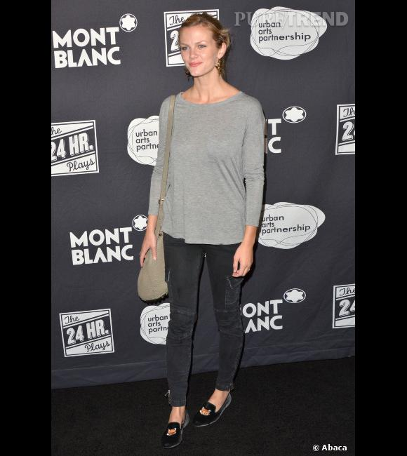 "Brooklyn Decker lors de la soirée ""The 24 Hour Plays : Los Angeles"" organisée par Montblanc pour l'association Urban Arts Partnership."