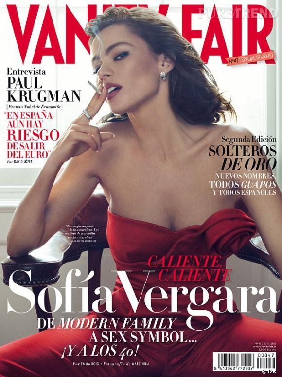 Sofia Vergara pour Vanity Fair.
