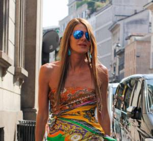 Anna Dello Russo, son extravagant show à Milan en 7 looks