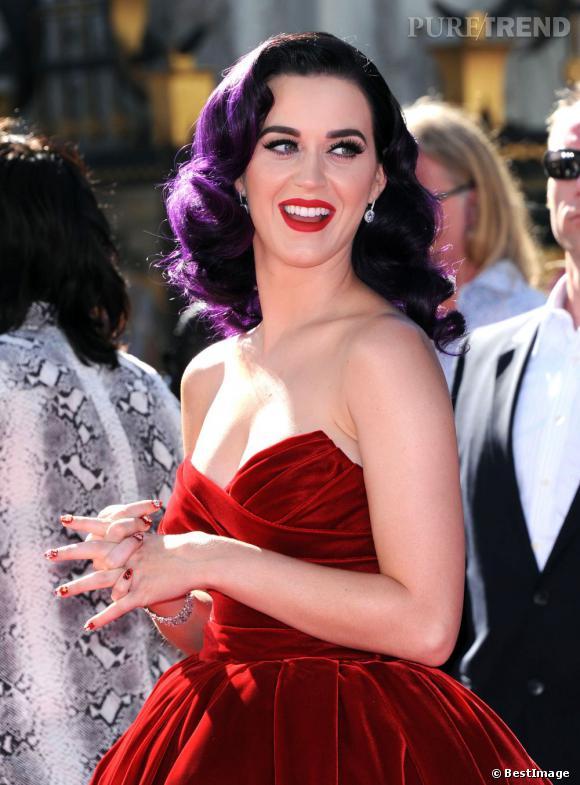 """Katy Perry à l'avant première de """"Part of me"""", son documentaire."""