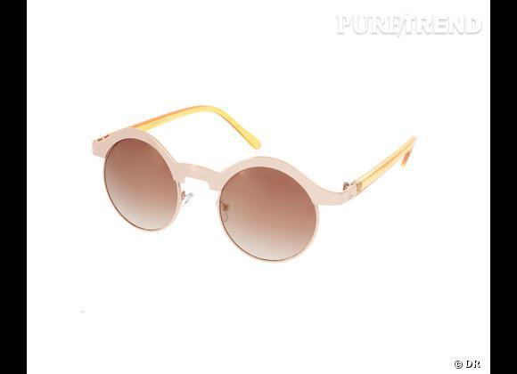 Comme les stars osez la tendance lunettes rondes      Lunettes de soleil  Asos , 16,29 €