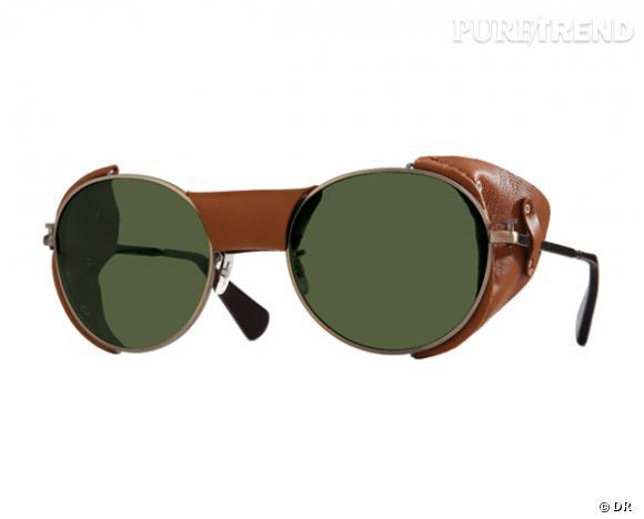 Comme les stars osez la tendance lunettes rondes      Lunettes de soleil Paul Smith, 325 €