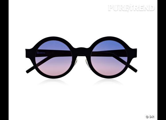 Comme les stars osez la tendance lunettes rondes      Lunettes de soleil Illesteva, 295 € sur  www.net-a-porter.com