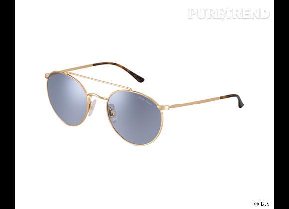 Comme les stars osez la tendance lunettes rondes      Lunettes de soleil Polo Ralph Lauren, 143 €