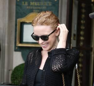 Kylie Minogue fait elle aussi les soldes à Paris
