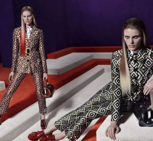 Le labyrinthe 70's de Prada