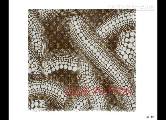 Must Have : les accessoires de poi(d)s de Louis Vuitton x Yayoi Kusama Foulard