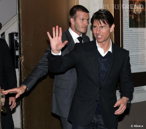 Tom Cruise et David Beckham, une amitié qui vire souvent à la bromance. David sera Team Tom !