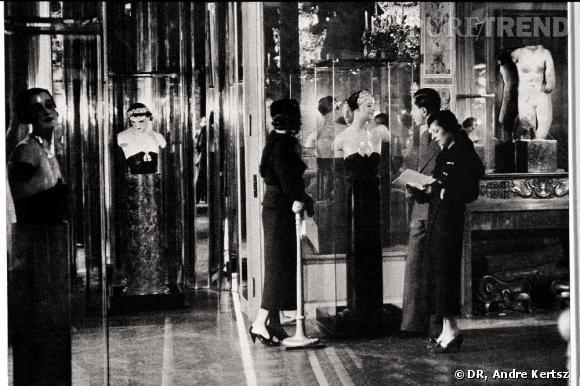 """Exposition des """"Bijoux de Diamants"""" créés par Chanel. Novembre 1932."""