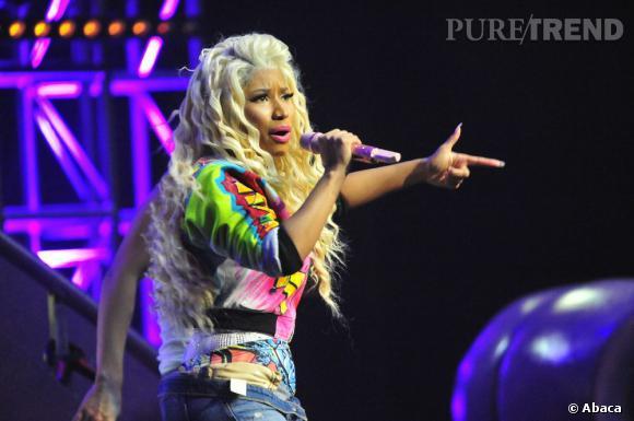 Nicki Minaj repousse les limites du bon goût lors de son concert à Chicago.