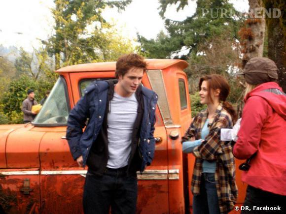On assiste aux balbutiements d'une histoire entre Kristen Stewart et Robert Pattinson... Emouvant !