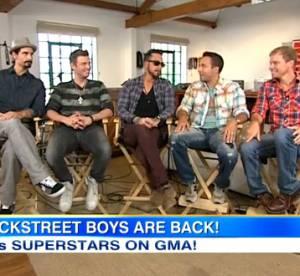 Les Backstreet Boys (au complet) sont de retour !