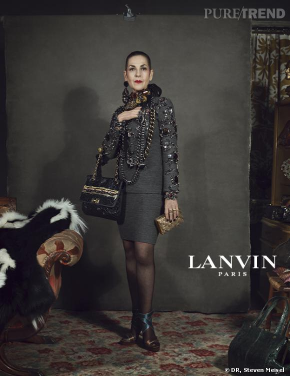 Campagne Lanvin, Automne-Hiver 2012/2013.