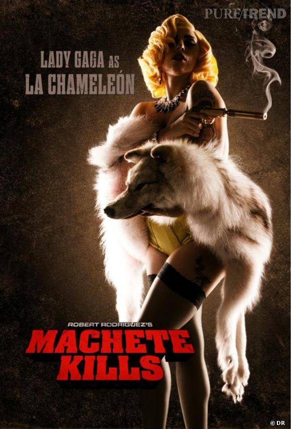 "Lady Gaga jouera ""Le Chameleon"" dans le film de Robert Rodriguez ""Machete Kills"""