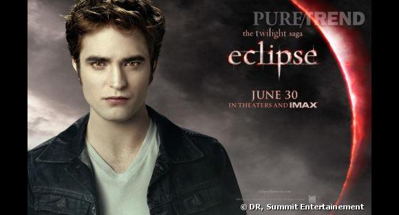 """Robert Pattinson dans le troisième volet de la saga Twilight, """"Eclipse""""."""