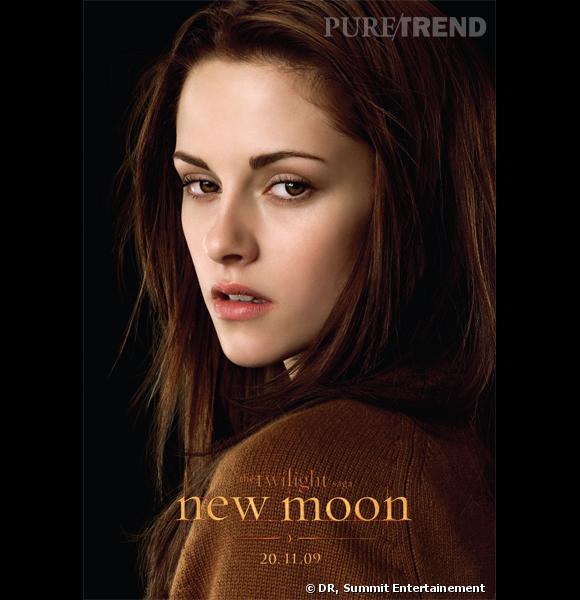 "Kristen Stewart dans le second volet de la saga Twilight, ""New Moon""."