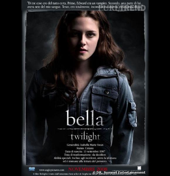 Kristen Stewart dans le premier volet de la saga Twilight.
