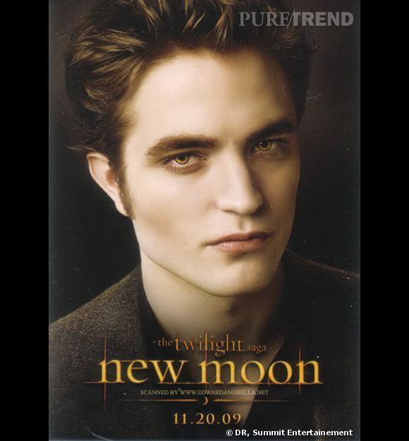 """Robert Pattinson dans le second volet de la saga Twilight, """"New Moon""""."""